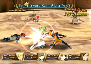 Sword Rain Alpha (TotA)