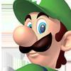 Luigi head shot