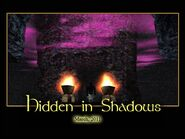 Hidden In Shadows Splash Screen