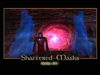 Shattered Masks Splash Screen