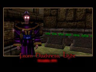 From Darkness, Light Splash Screen