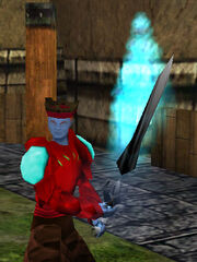 Shadowfire Isparian Two Handed Sword Live
