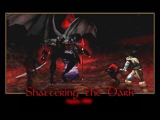 Shattering the Dark Splash Screen