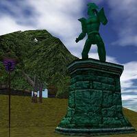 Cragstone Statue Live