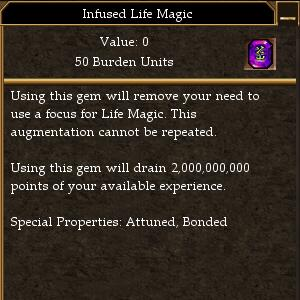 Infused Life Magic