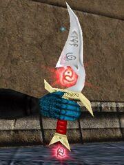 Red Rune Silveran Dagger Live