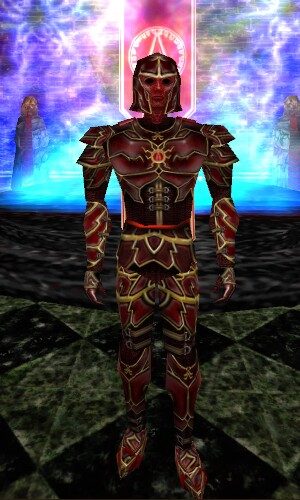 Radiant Blood Society Armor Live