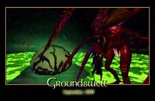Groundswell Splash Screen