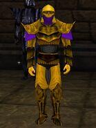 Haebrean Armor Dark Gold Purple Light Gold Live