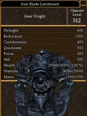 Iron Blade Lieutenant