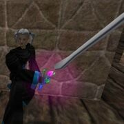 Enhanced Sparking Atlan Two Handed Sword Live