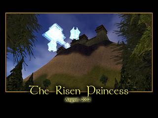 The Risen Princess Splash Screen