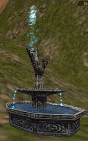Ornate Fountain Live