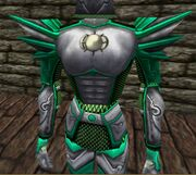 Auroric Exarch Armor (Green) Live