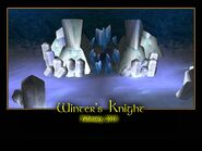 Winter's Knight Splash Screen
