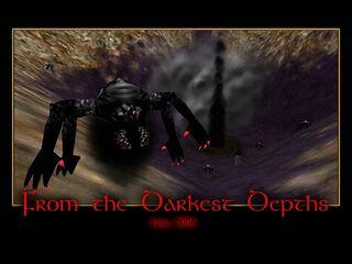 From the Darkest Depths Splash Screen