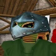 Armored Sclavus Mask (Teal) Live