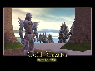 Cold Tracks Splash Screen