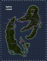 Aphus Lassel Map