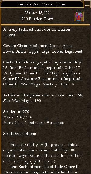 Suikan War Master Robe