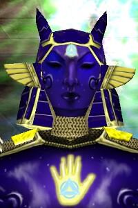 Celestial Hand Society Armor Closeup Live