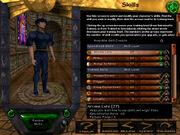 Pre-ToD Character Creation (Skills)