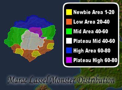 Marae Spawn Distribution
