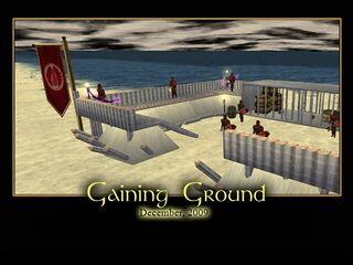 Gaining Ground Splash Screen