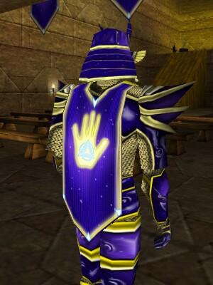 Celestial Hand Society Armor Back Live