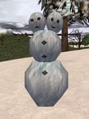Two Headed Snowman Live