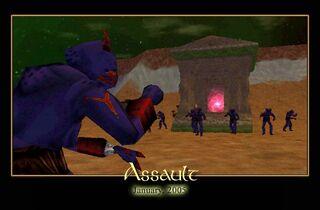 Assault Splash Screen