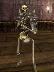 Skeleton Bone Knight Live