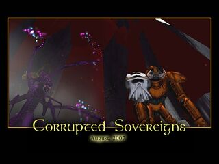 Corrupted Sovereigns Splash Screen