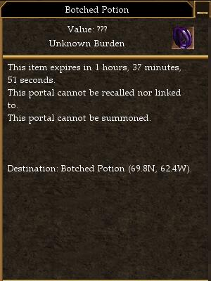 Botched Potion