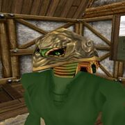 Armored Sclavus Mask (Gold) Live