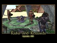 Risks and Rewards Splash Screen