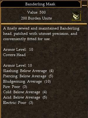 Banderling Mask (Hollow Victory)