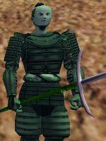 Bronze Golem Samurai Live