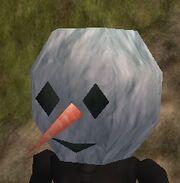 Giant Snowman Mask Live