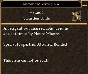 Ancient Mhoire Coin (Ancient Enemies)