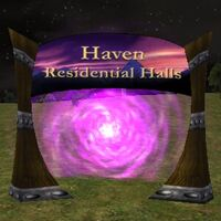 Haven Residential Halls Live