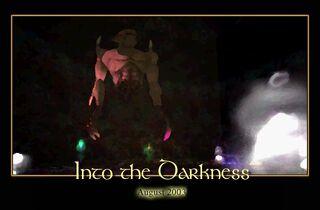 Into the Darkness Splash Screen