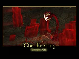 The Reaping Splash Screen
