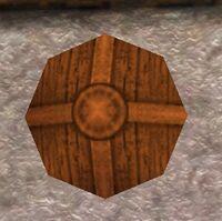 Bronze Round Shield Live