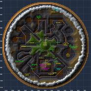 Map caul old