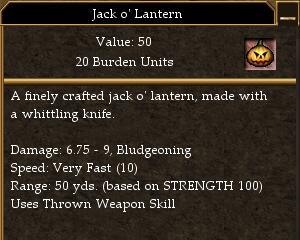 Jack o' Lantern (Trophy)