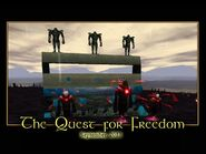 The Quest for Freedom Splash Screen