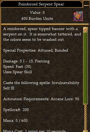Reinforced Serpent Spear