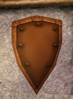 Bronze Large Kite Shield (Statue) Live