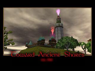 Toward Ancient Shores Splash Screen